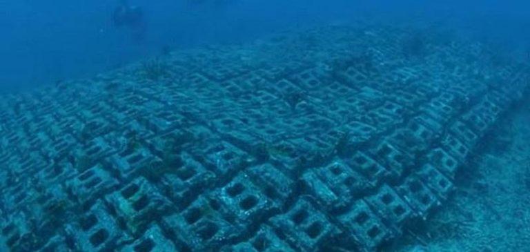 Un'antica strada scoperta sul fondo dell'oceano