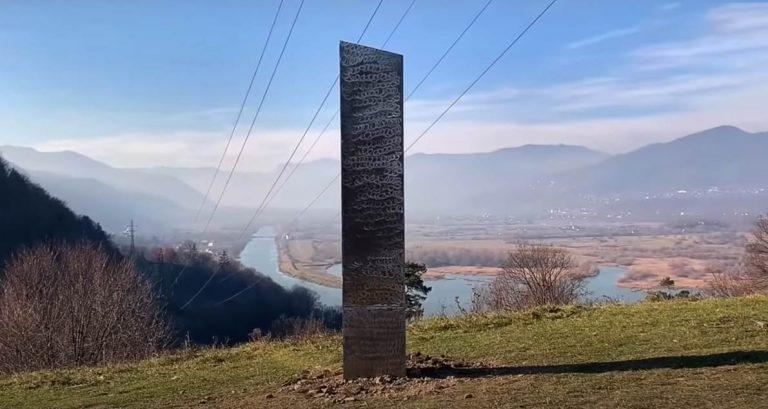 Ancora un monolite, questa volta in Romania
