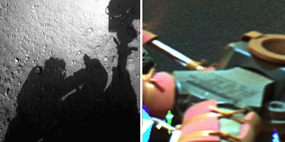 Ci sono astronauti gia su Marte che riparano il rover