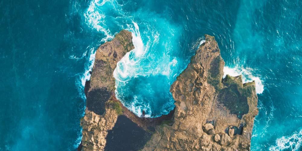 Drone fotografa accidentalmente donna che sta annegando