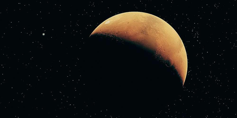 Marte Si studia il metodo per trasformare acqua in ossigeno