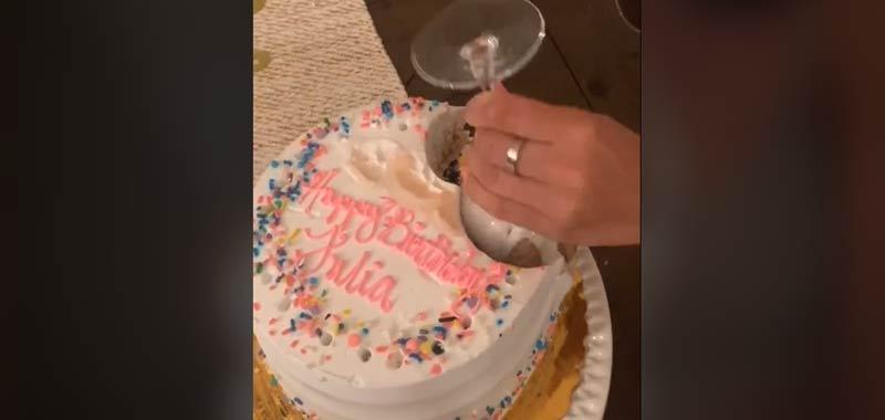 Taglia la torta in modo geniale e diventa virale