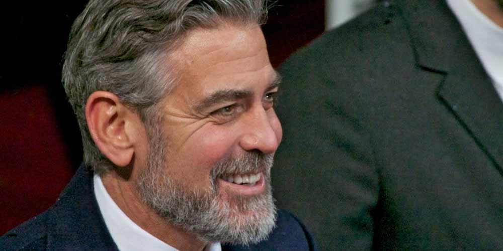 George Clooney Non volevo nomi strani per i miei figli