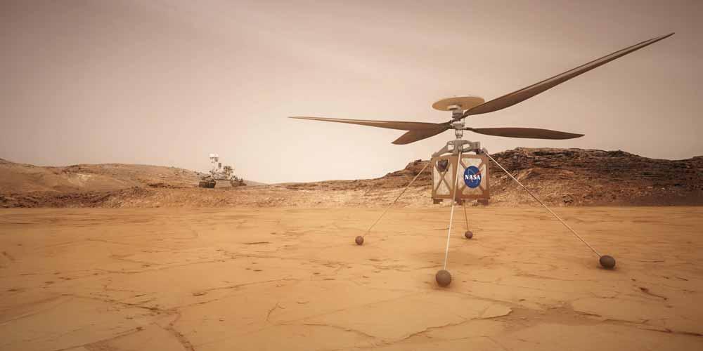 La Nasa svela il segreto della sonda Perseverance un elicottero