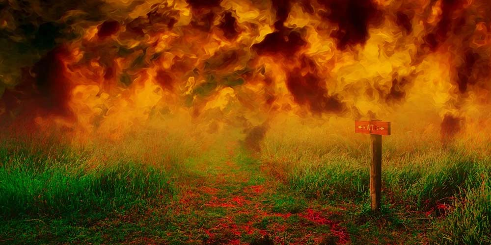 La vita dopo la morte Ho visto inferno