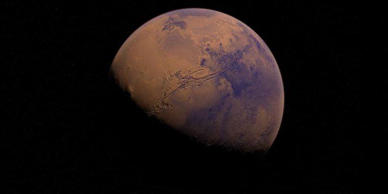 Marte oscilla attorno al proprio asse come la Terra