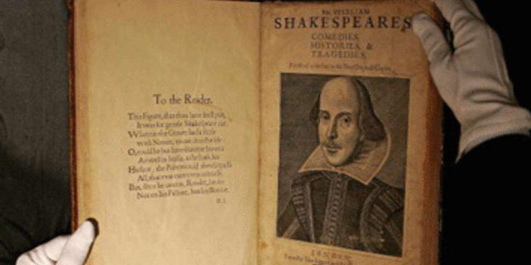 Ricercatore rivela: Shakespeare era analfabeta non andava a scuola