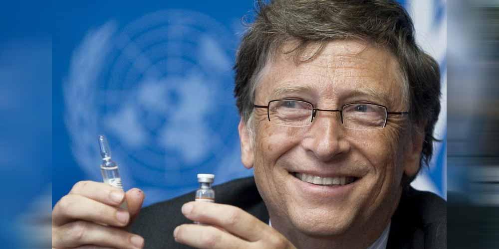 Bill Gates combattera la pandemia e i cambiamenti climatici