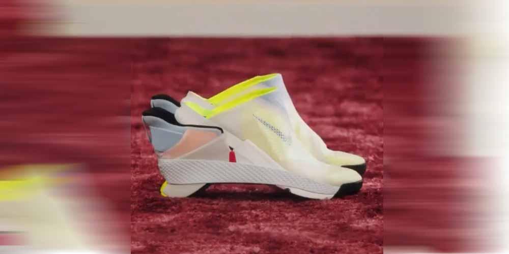 La Nike lancia le scarpe che si indossano senza usare le mani