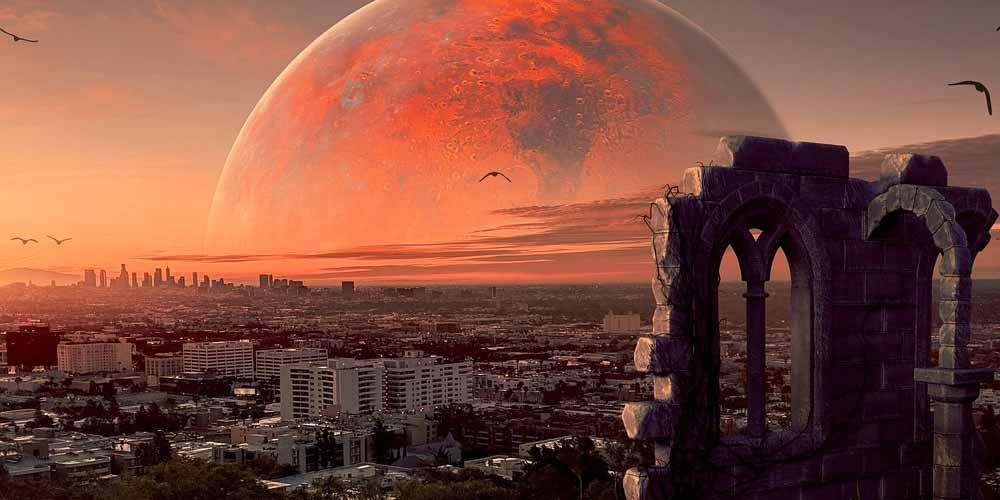 Progetto Marte Base permanente e citta