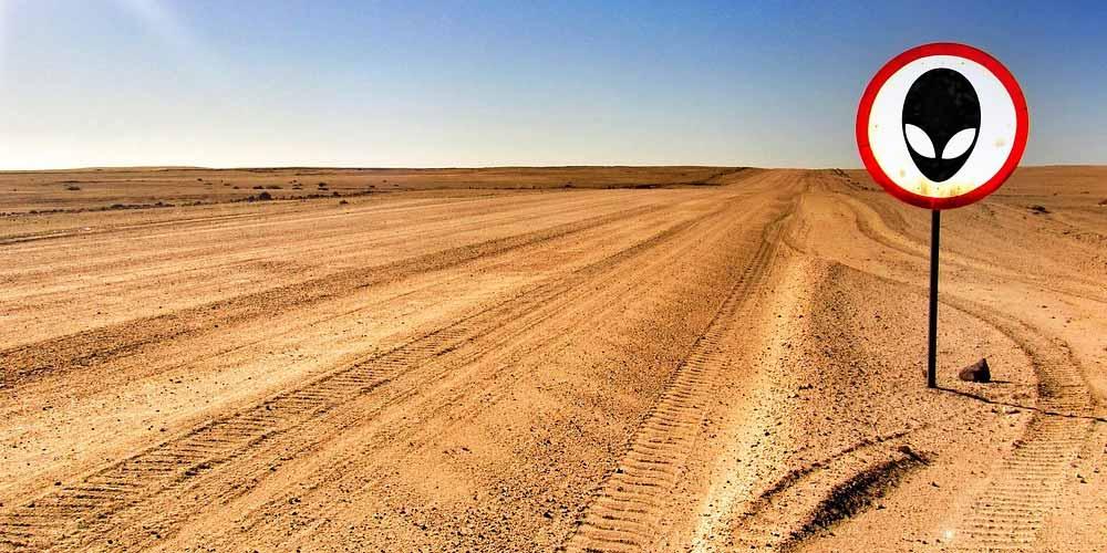 Terreno si vende a cifre folli si trova accanto a Area 51