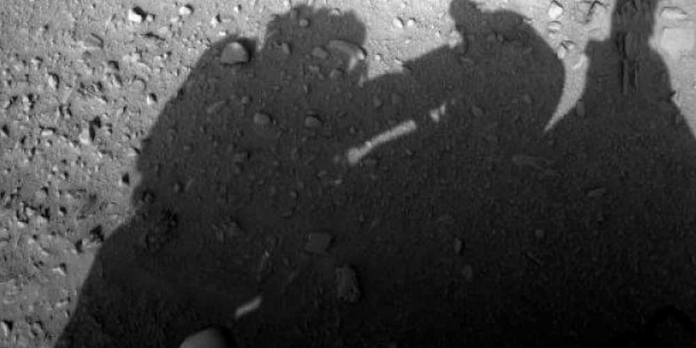 ombra sembra dimostrare che uomo gia su Marte
