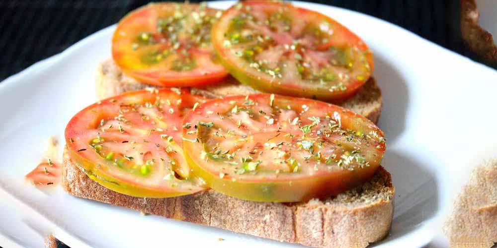 Pane e pomodoro Utile per la nostra dieta