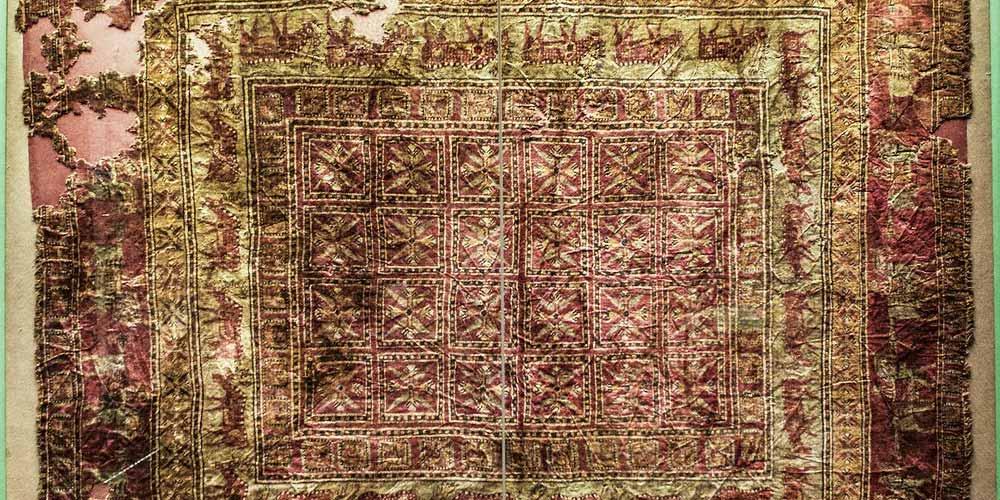 Pazyryk risolto enigma del tappeto orientale che non sbiadisce mai