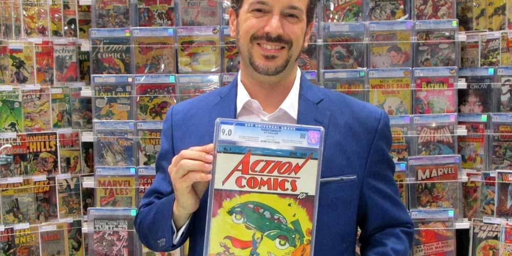 Il primo numero di Superman venduto per oltre 3 milioni di dollari