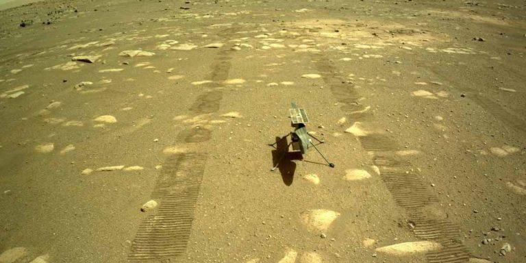 Ingenuity scatta la prima foto della superficie marziana