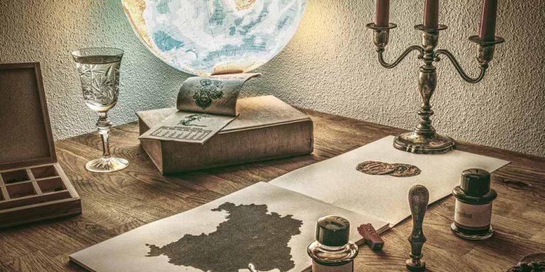 Un'antica mappa d'Europa risale a 3500 anni fa