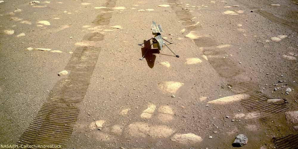 Ingenuity compie il suo quinto volo su Marte