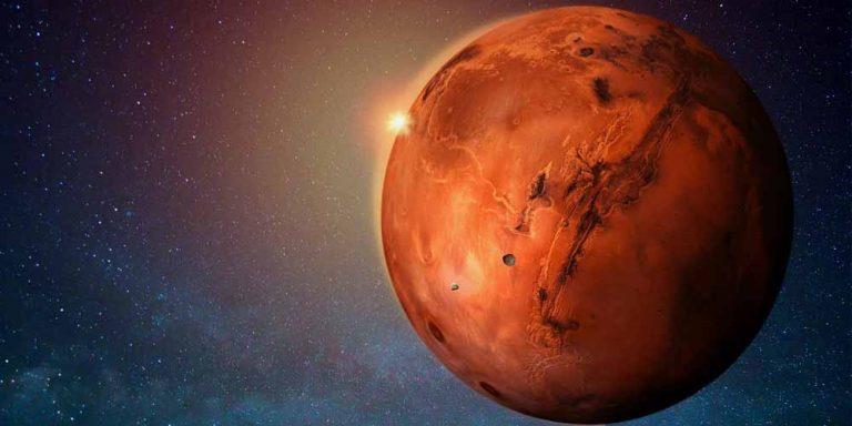 Marte, le impressionanti immagini del cratere Gale