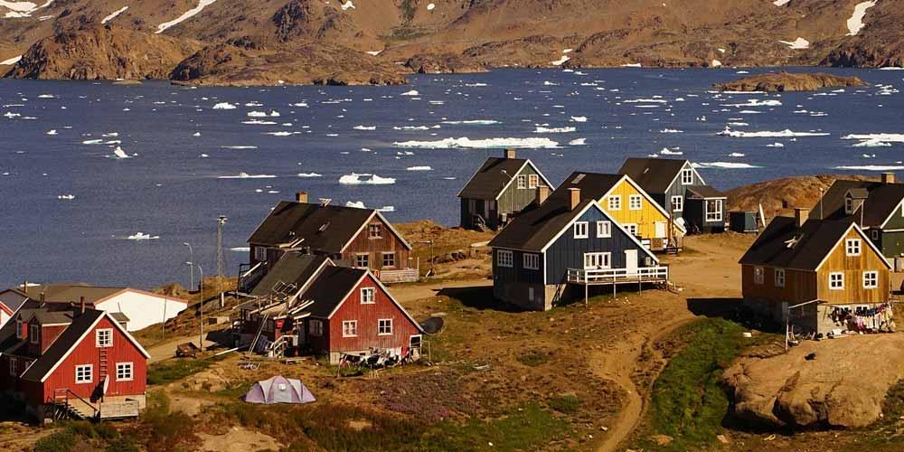 la Groenlandia sta diventando sempre piu buia