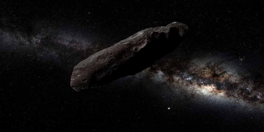Asteroide Oumuamua e avvistamenti UFO un collegamento