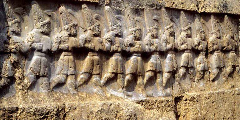 Un antico tempio raffigurava l'universo