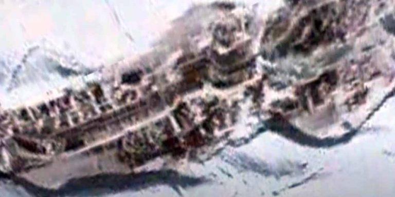Una struttura fuoriesce dalla calotta dell'Antartide?