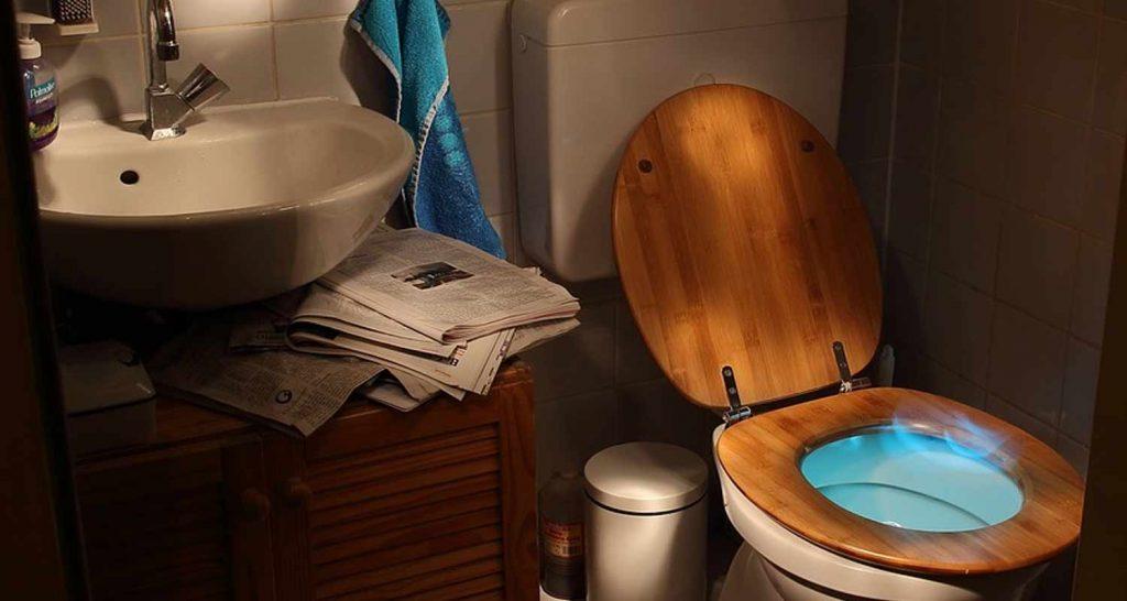 Gli inglesi prendono il te seduti sul wc