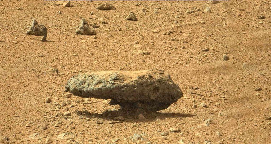 Marte Le rocce contengono capsule del tempo