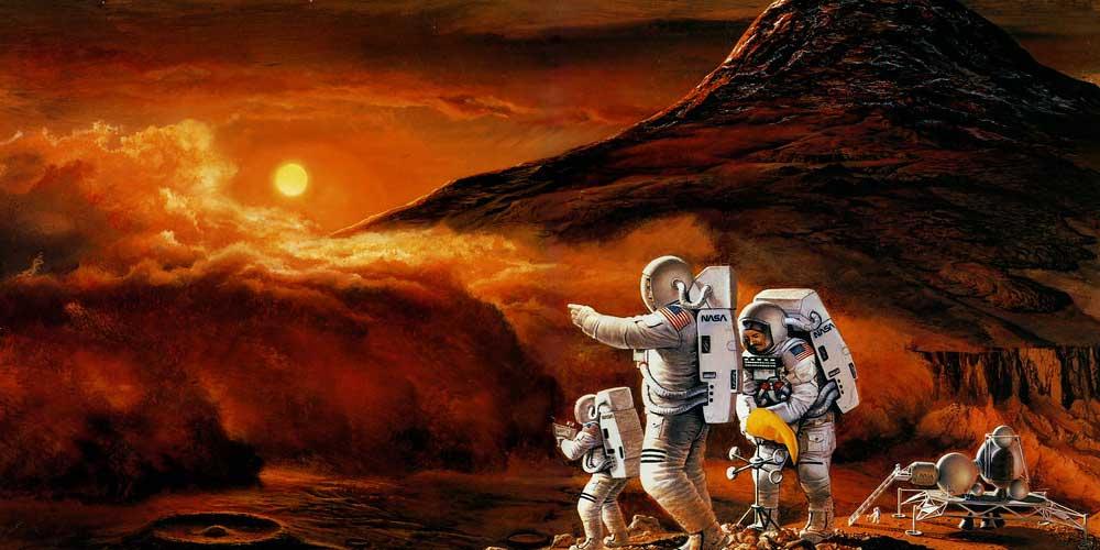 Quanto tempo un astronauta potra stare su Marte