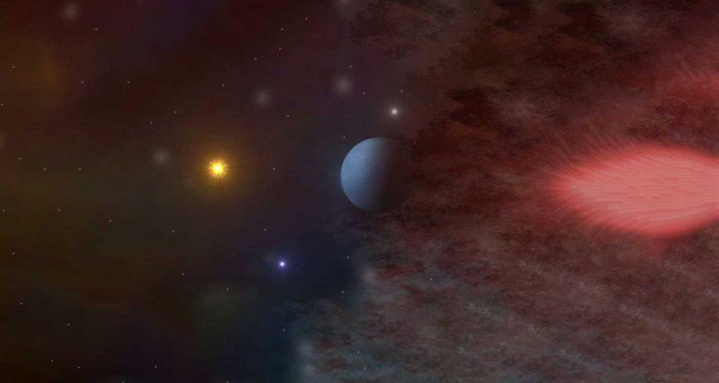 Esiste un pianeta che orbita intorno a tre stelle